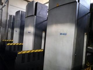 Goss M600 4 Unit 1 Web Press Akzidenzmaschine