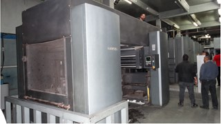Goss M600A (5) Unit w/ JF45 Folder Akzidenzmaschine