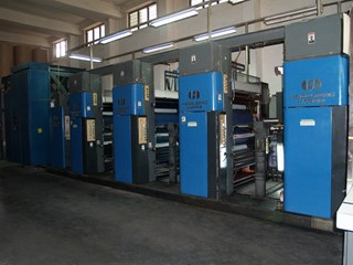 Harris M1000B (4) Unit Press Prensas Rotativas Comerciales