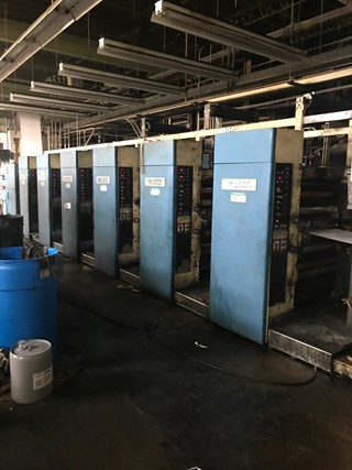 Harris M110B - 6 Unit Press; 2 Web press Heatset