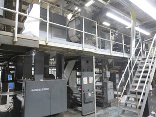 Harris M130 (8) Unit (2) Web Press Heatset