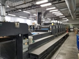 Heidelberg CD 102-6+LX SE Sheet Fed