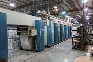 Heidelberg®  M1000BE (5) Unit (1) Web Offset Press Heatset