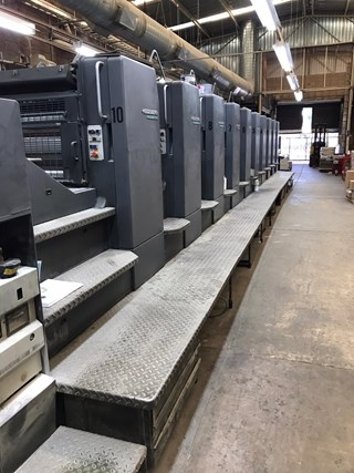 Heidelberg SM 102-10-P6 Sheet Fed
