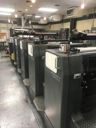 Heidelberg SM 102-6P+L 单张纸胶印机