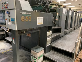 Heidelberg SM 102-6-P2.3 Sheet Fed