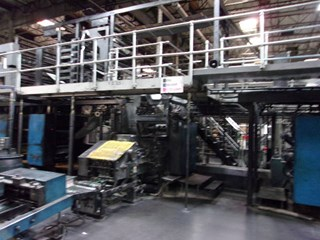 Heidelberg V30 (16) Unit Web Press Cold Set