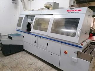 Horizon BQ-470 W/ PUR Encuadernadoras rusticas de cola caliente o cola PUR; Encuadernación en rústica