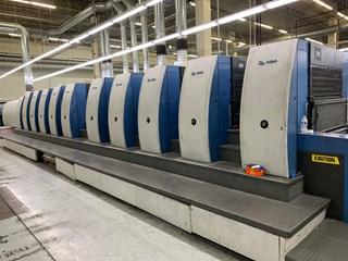 KBA Rapida 105-10+LSW5 CX (10) Color UV Press Gebrauchte Bogenoffsetmaschinen