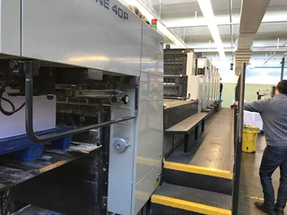 Komori L640P + Coater Sheet Fed