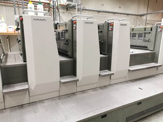 Komori Lithrone L-29 8 Color Prefector W/ Coater Sheet Fed