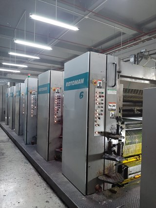 Manroland Rotoman N 6 Unit ROTATIVES COMMERCIALES/MAGAZINES