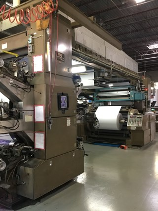 PCMC CI Printing Press 6 Color Flexographic Equipment