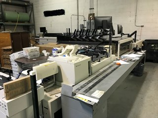 Pitney Bowes Rival Flowmaster Inserter Mail Room Equipment