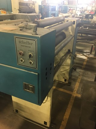 Scheffer Perforator Sheeters & Inline Finishing