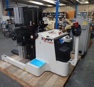Toppy Pile Turner w/ Air Jogger- Demo Machine Paper Handling Equipment