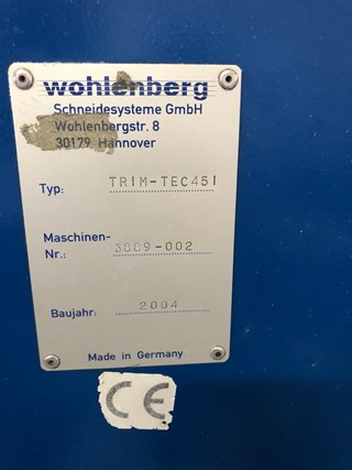 Wohlenberg GOLF 6001 Perfect Binders