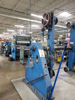 Zerand Web Fed Die Cutting Line Die Cutters - Automatic and Handfed