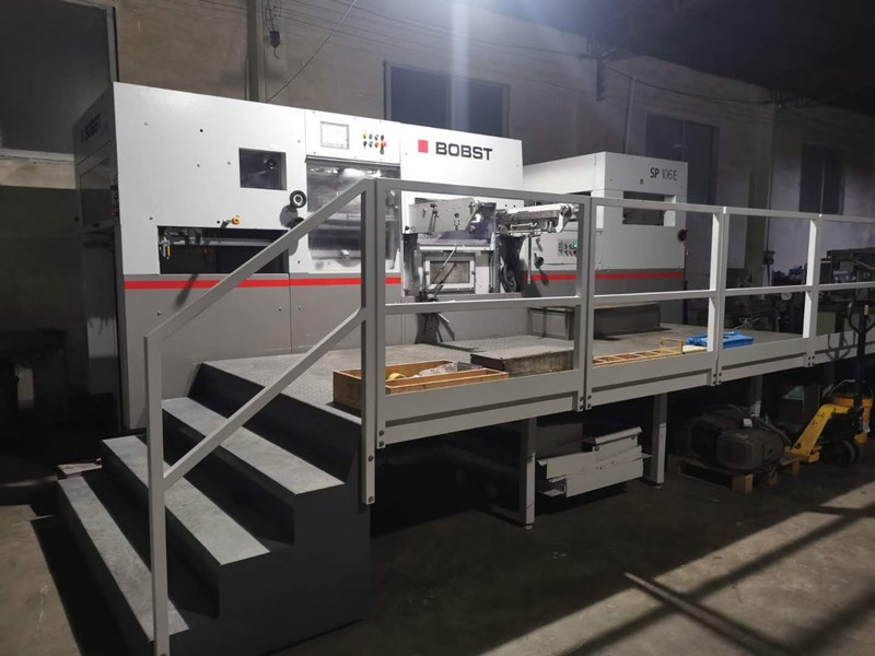 Show details for Bobst 106 E (2013) Die Cutter