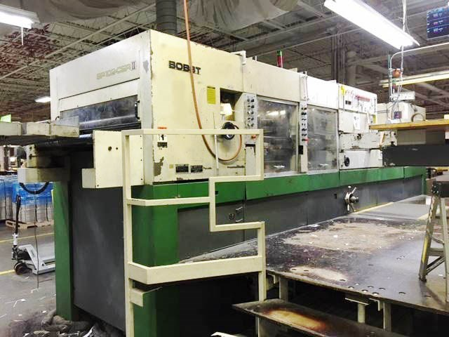 Show details for Bobst SP 102 CER II W/ Stripping and Blanking