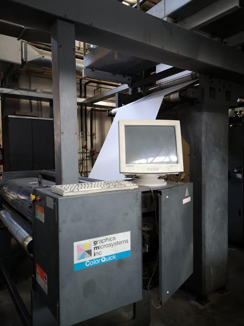 Goss M600 4 Unit 1 Web Press