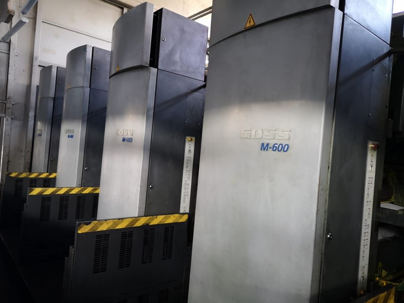 Goss M600 4 Unit 1 Web Press