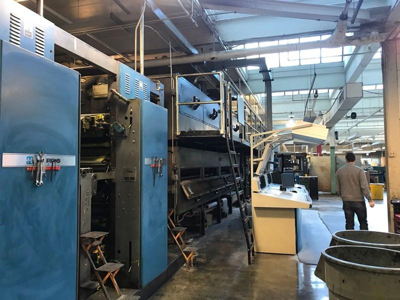 Show details for Harris M1000A (8) Unit (2) Web Press