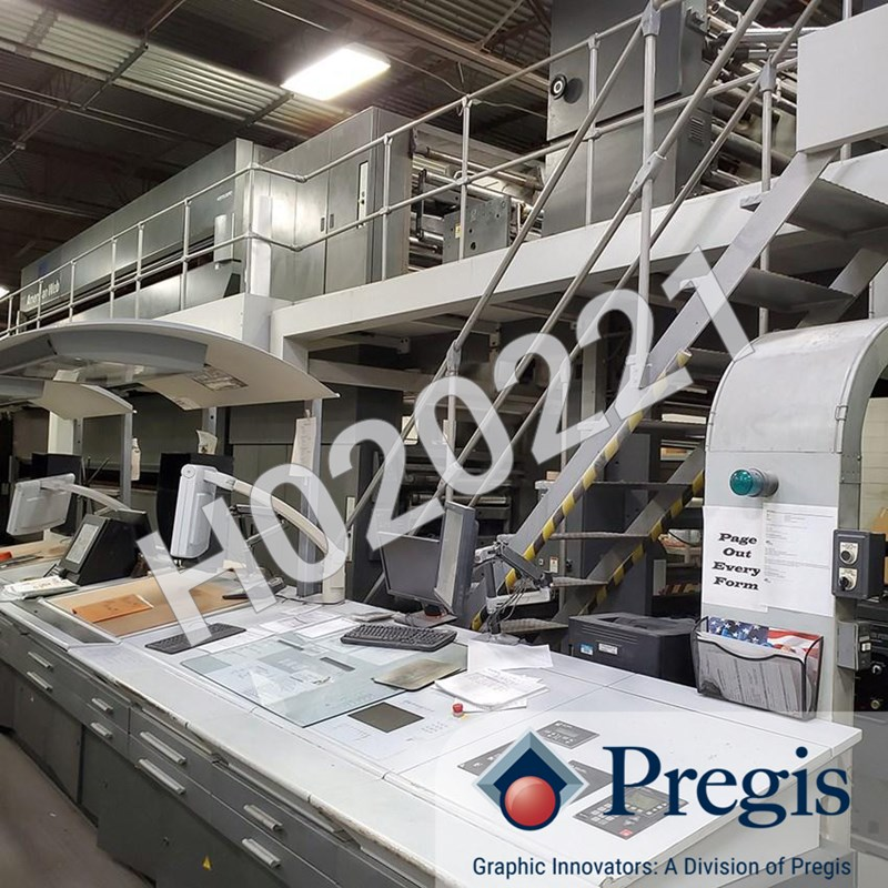 Show details for 2002 M600 (8) Unit (2) Web Offset Press