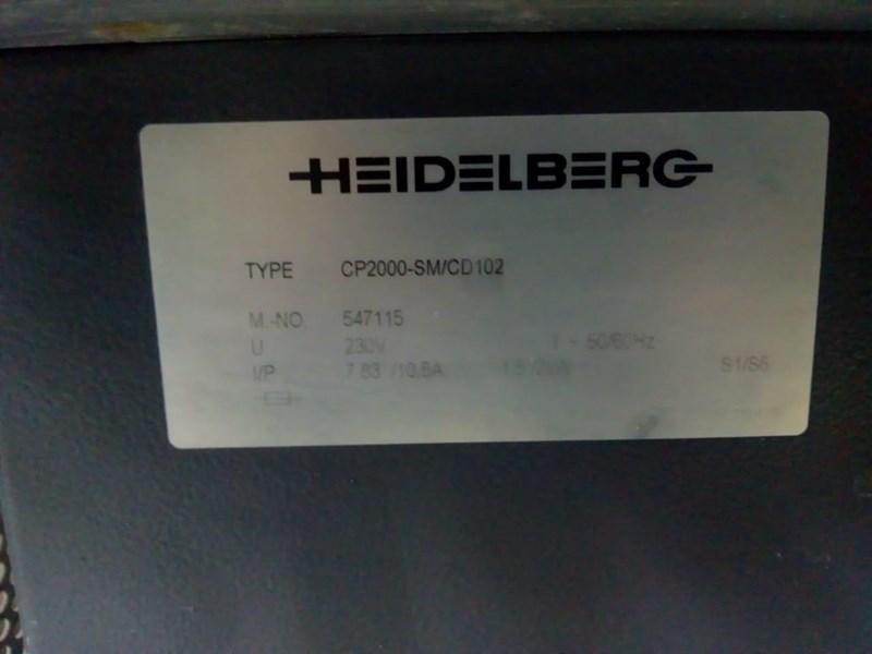 Heidelberg SM 102-10-P6