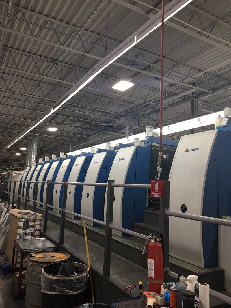 Show details for KBA Rapida RA106-10+L SW1 AVL3 10 Color + Coater W/ Perfector