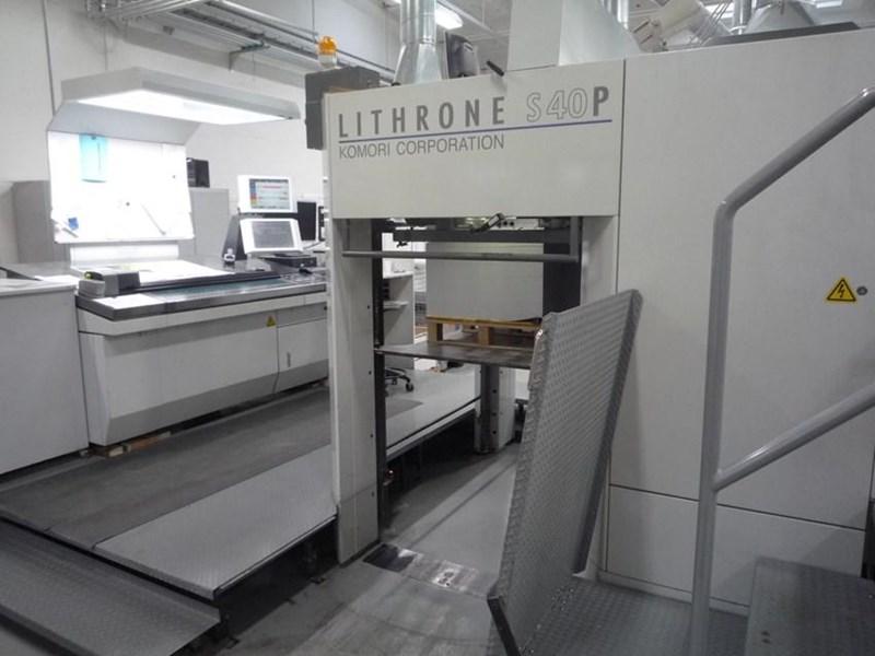 Komori Lithrone S 1040 P + CX