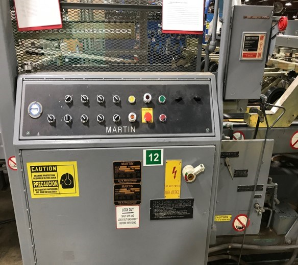 """Langston 66"""" x 113"""" 2 Color Rotary Die Cutter"""