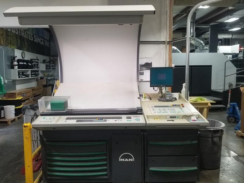 Manroland 506 6 Color Press