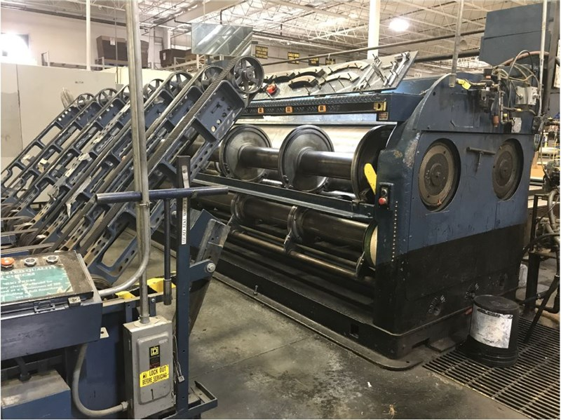 Show details for S & S One Color Printer w/ Slotter and Skip Feed