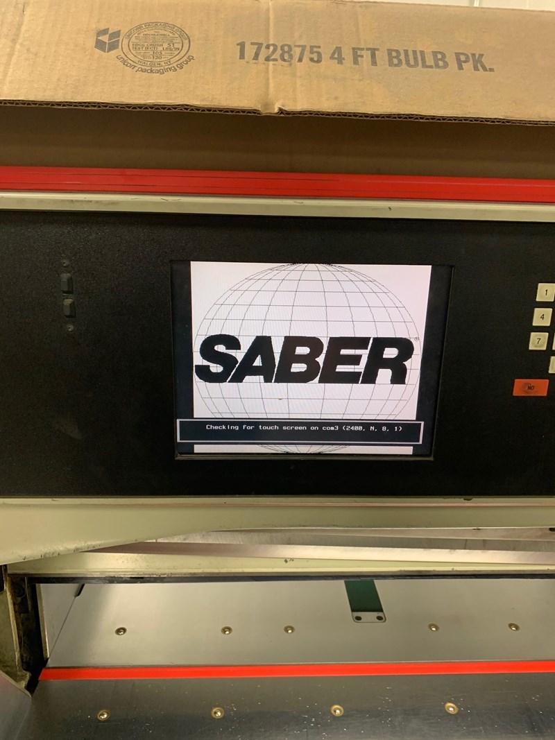 """Saber S-95 37"""" High Speed Paper Cutter"""
