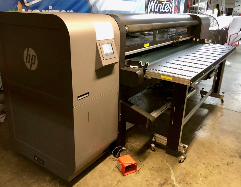 Show details for HP Scitex FB750 Flatbed Digital Printer
