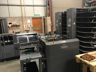 Duplo 600i Booklet System. Booklet Production