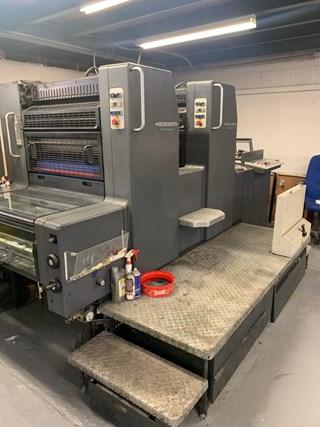Heidelberg SM 74 2P 2 Colour Perfecting Press Sheet Fed