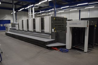 Komori LITHRONE L540 plus Coater Sheet Fed