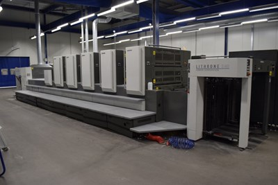 Komori LITHRONE L540 plus Coater