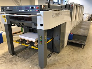Komori Lithrone LS 529 Sheet Fed
