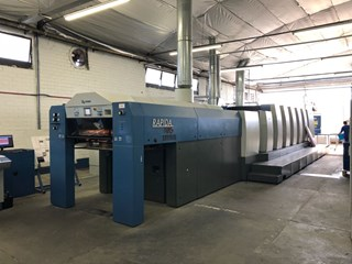 KBA RA 105-6+L CX FAPC ALV2 + UV Machines offset à feuilles