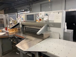 2011 POLAR 137 XT Cutting Line Guillotines/Cutters