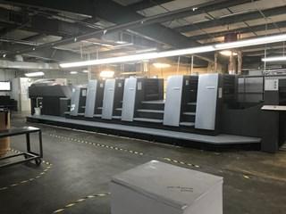 Heidelberg CD74-5P+LX (F) 单张纸胶印机