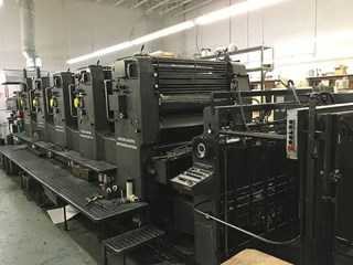 Heidelberg SM102FPP Sheet Fed