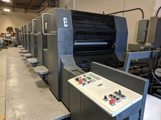 Heidelberg SM74-6P3+L Sheet Fed