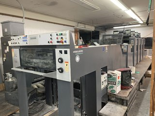 Heidelberg SM74-4+L Sheet Fed