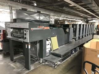Heidelberg SM74-8P+LX Machines offset à feuilles