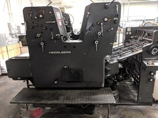Heidelberg SORDZ Sheet Fed