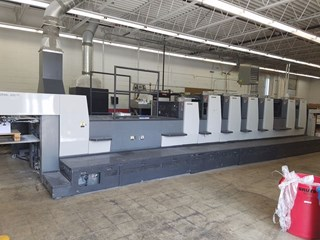 Komori NL628P+C Sheet Fed
